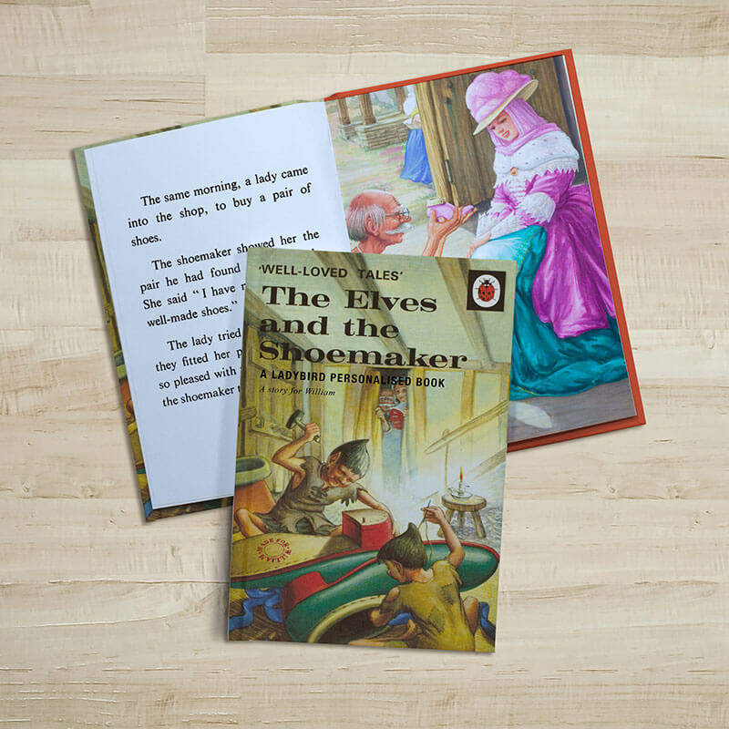 Personalised Ladybird Book of The Elves and the Shoemaker