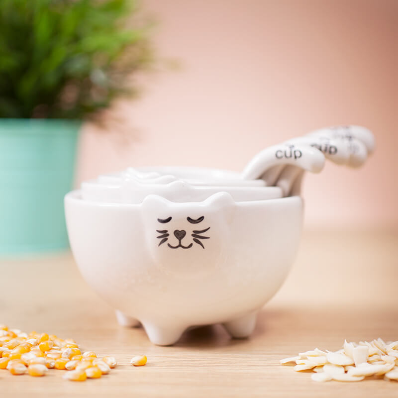 Kitty Measuring Cups