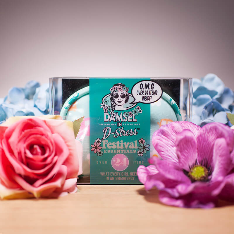 Damsel In D-Stress - Campervan Festival Kit