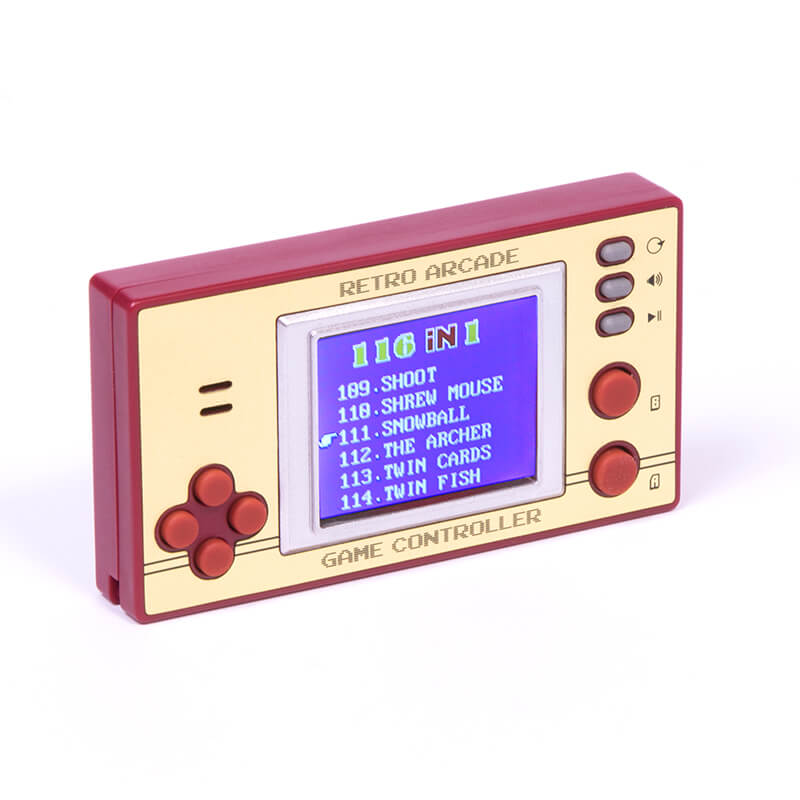 Retro Pocket Games With LCD screen