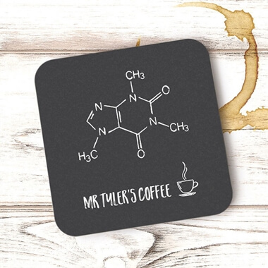 Personalised Teacher Coaster