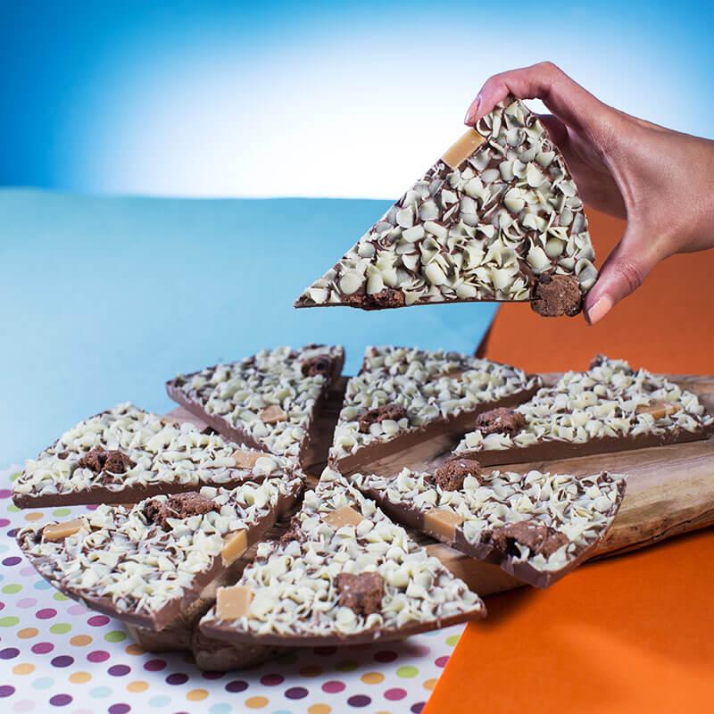 "60th Birthday Chocolate Pizza - 10"""