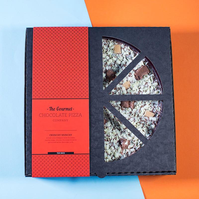 "50th Birthday Chocolate Pizza - 10"""
