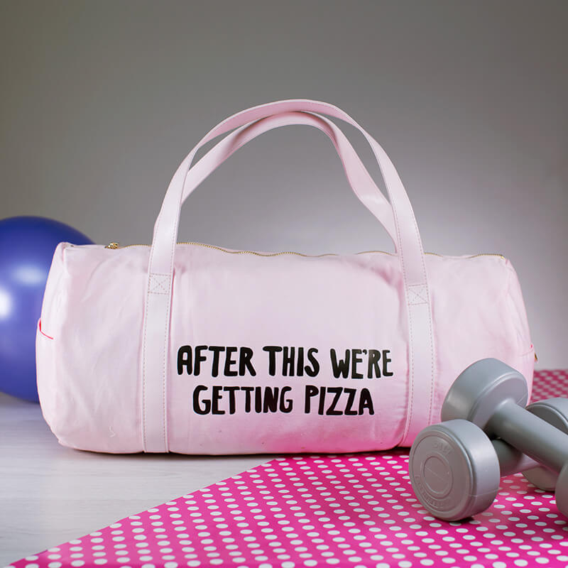 After This We're Getting Pizza Workout Bag