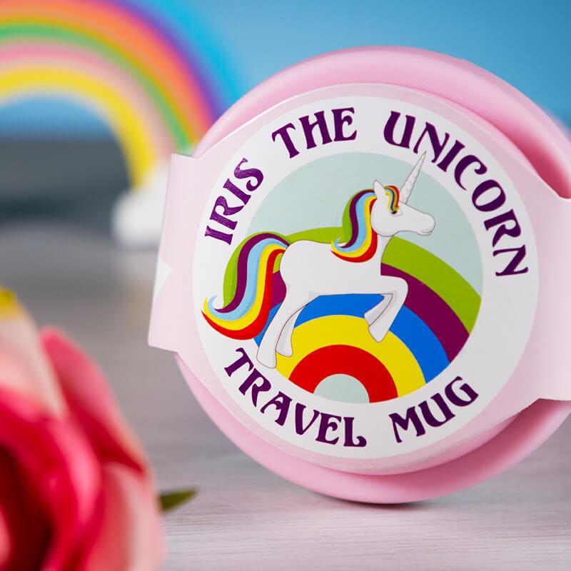 Iris The Unicorn Travel Mug
