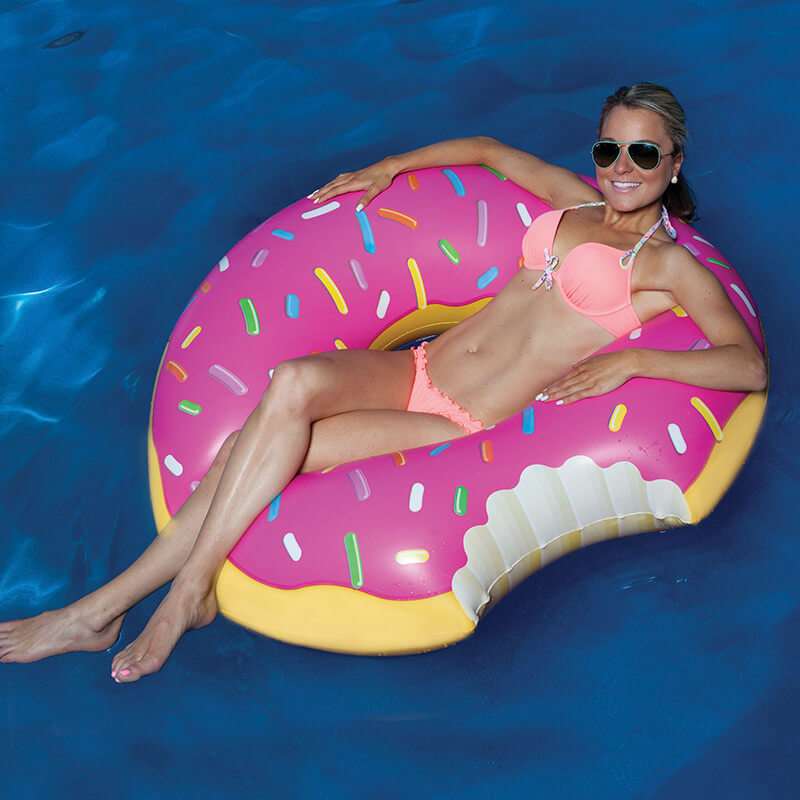 Strawberry Donut Pool Float Buy From