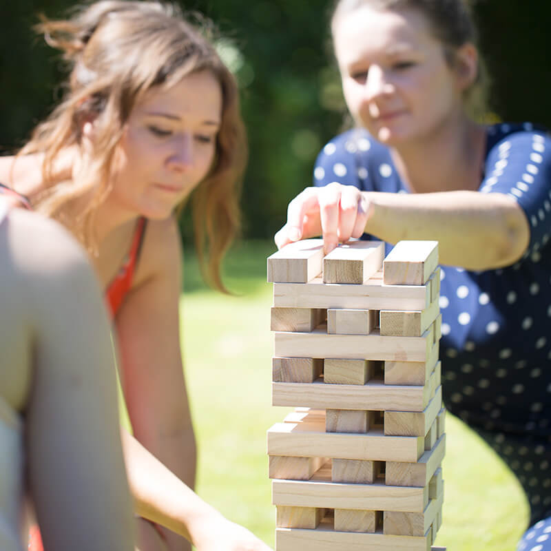 Summertime Games - Giant Toppling Tower