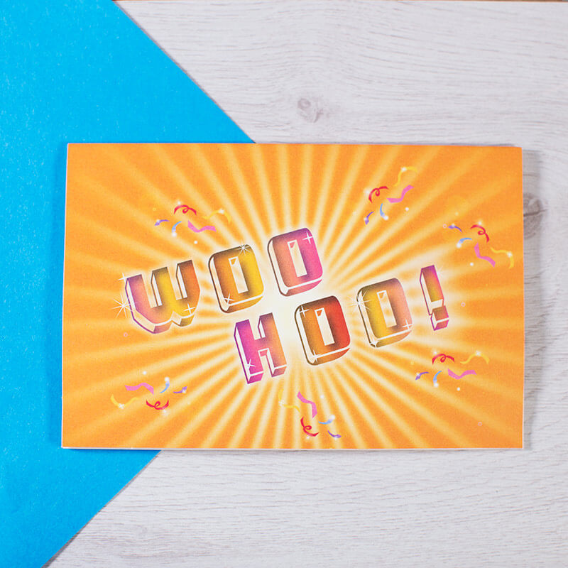 High Five Pop Up Notecards
