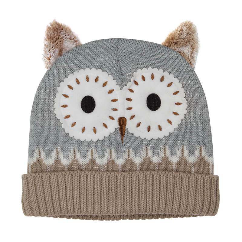 Click and Heat Hat - Owl