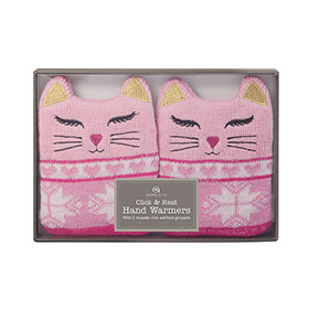 Click and Heat Hand Warmers - Cat