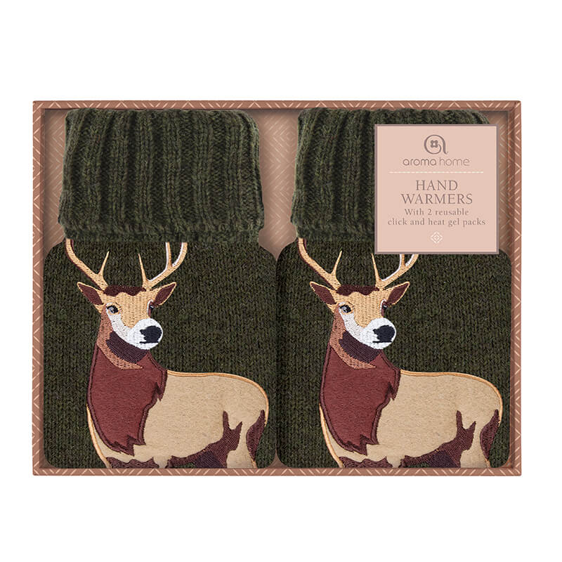 Click and Heat Hand Warmers - Stag