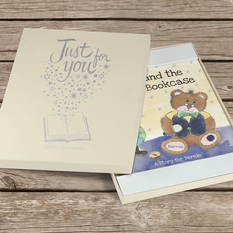 Personalised Magical Bookcase Book