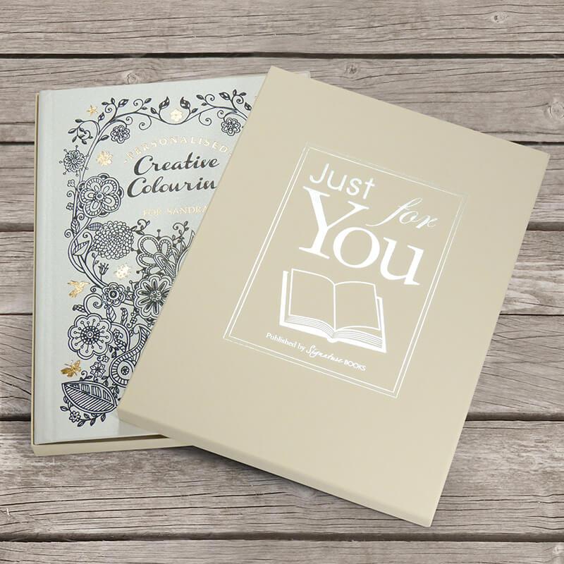 Personalised Creative Colouring Book - Hardback