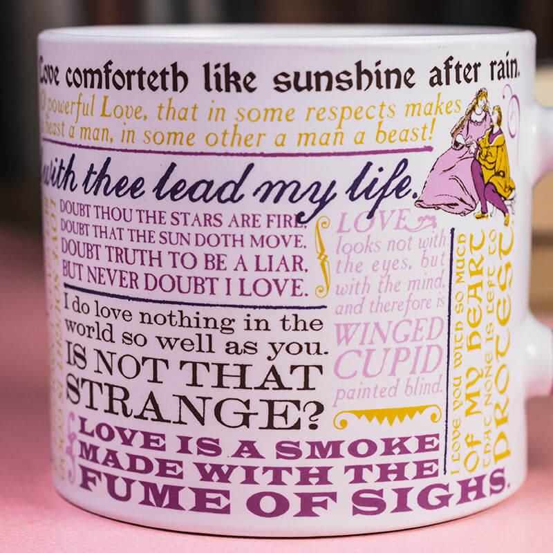 Shakespearean Love Mug
