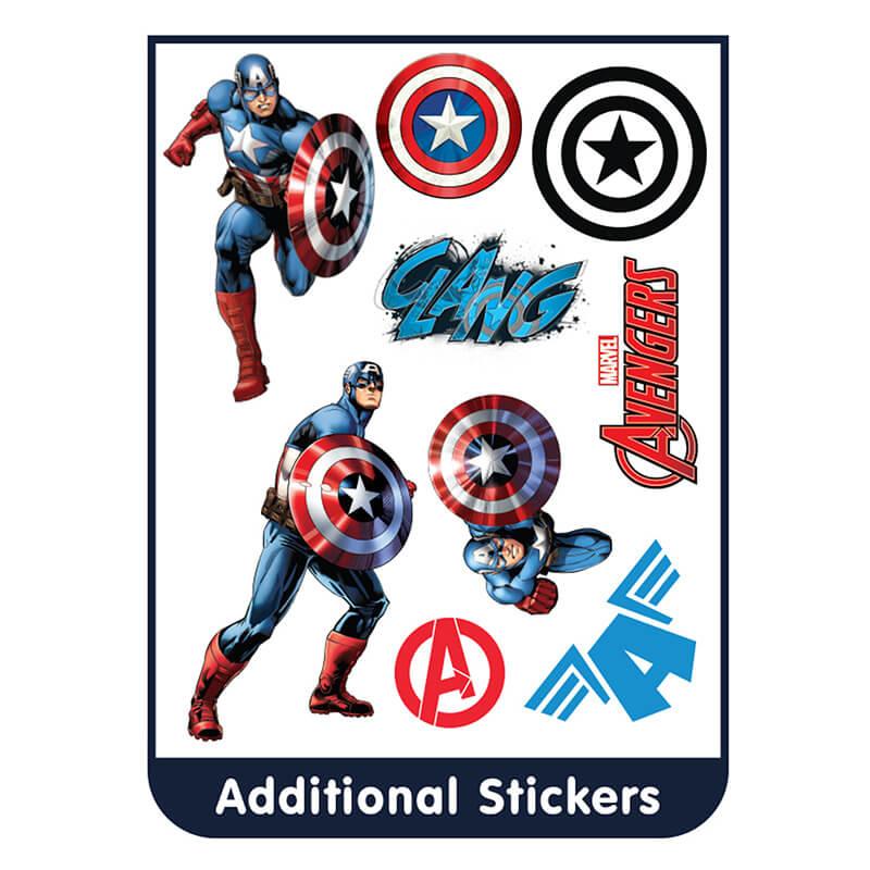 Marvel's Captain America Room Stickers