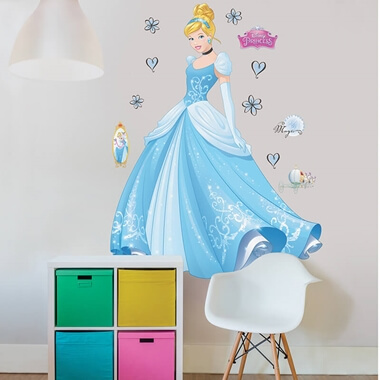 Disney Princess Cinderella Room Stickers