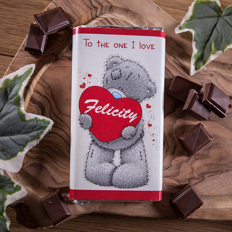 Personalised Me To You Chocolate Bar