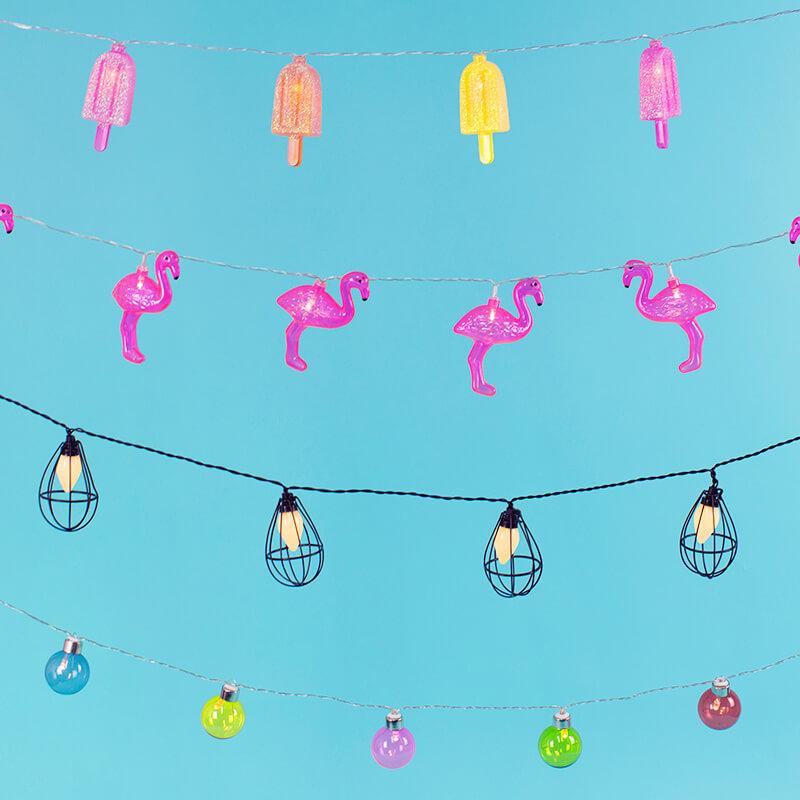 Ice Cream Lolly Lights