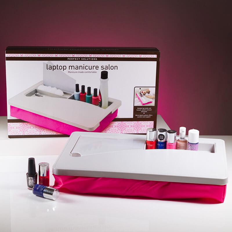 Laptop Manicure Salon
