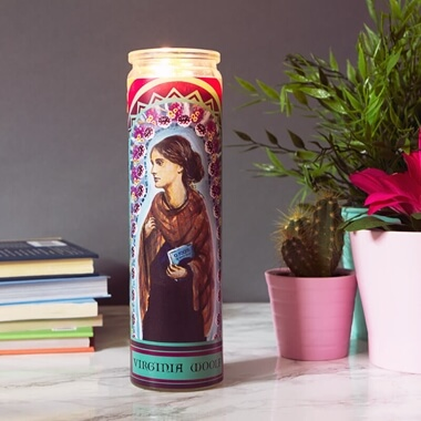 Secular Saints - Virginia Woolf Candle