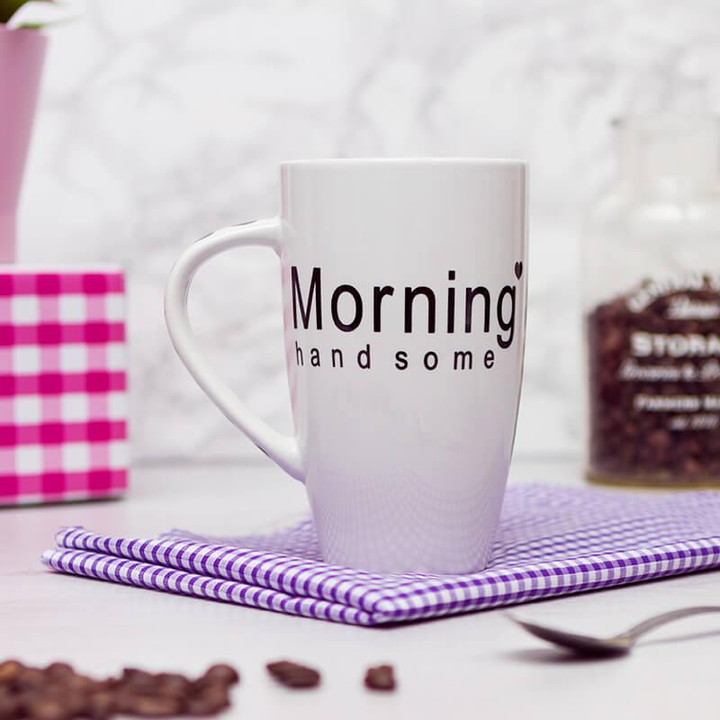 Morning Mugs - Set Of 2
