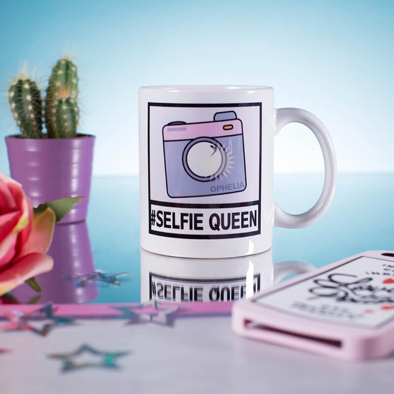 Personalised Selfie Mug