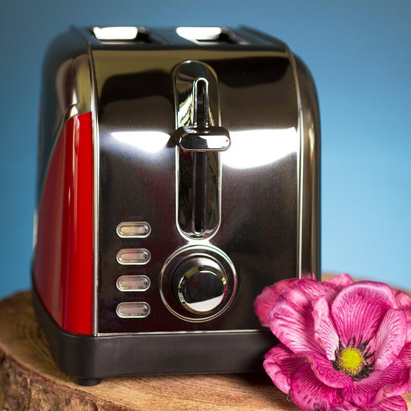 Volkswagen Campervan Toaster - Red