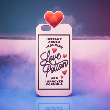 Instant Crush Inducing Love Potion iPhone Case