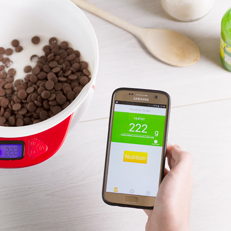 Healthy Kitchen Scale With App