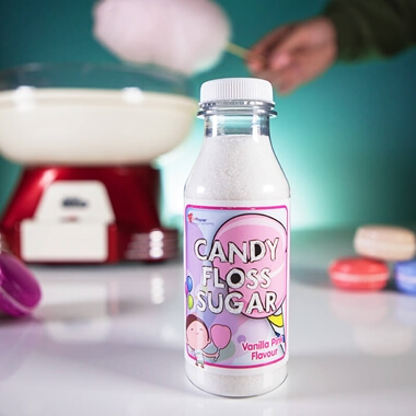 Candy Floss Sugar - Vanilla