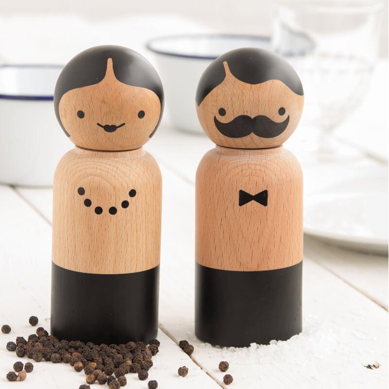Mr & Mrs Salt and Pepper