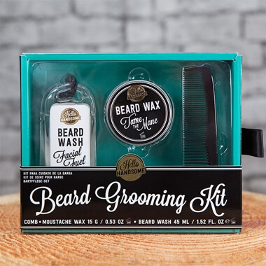 Hello Handsome Beard Grooming Kit
