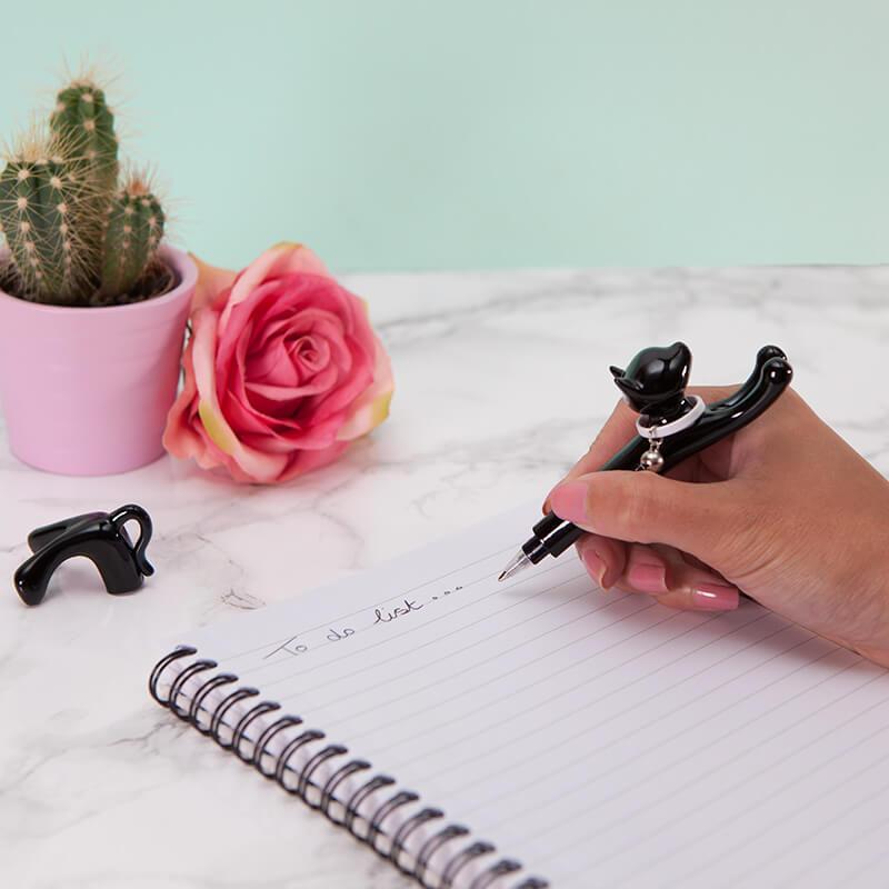The Purrrfect Pen - Black