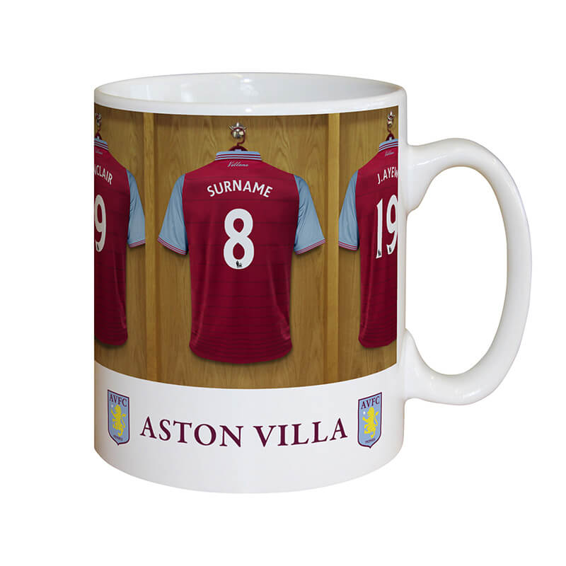 Personalised Football Team Dressing Room Mug