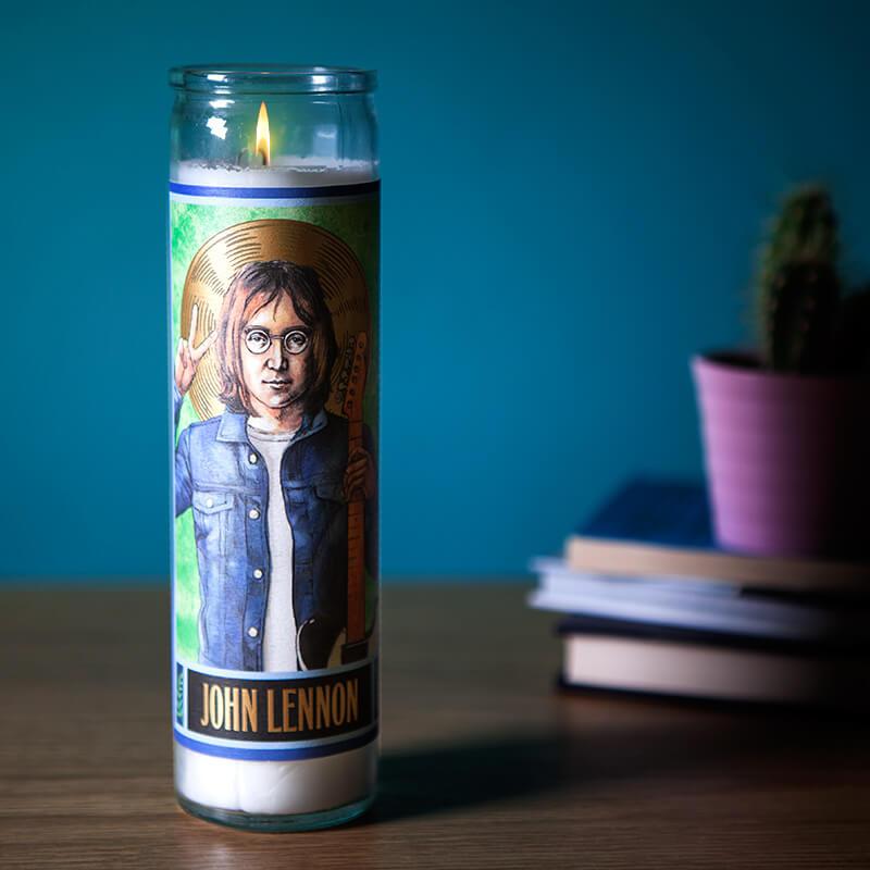 Secular Saints - John Lennon Candle