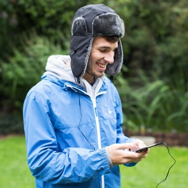 Headphone Trapper Hat