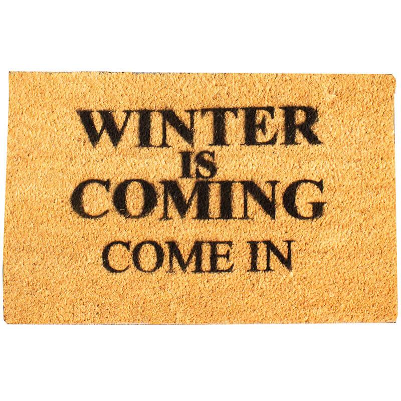 Winter Is Coming Doormat