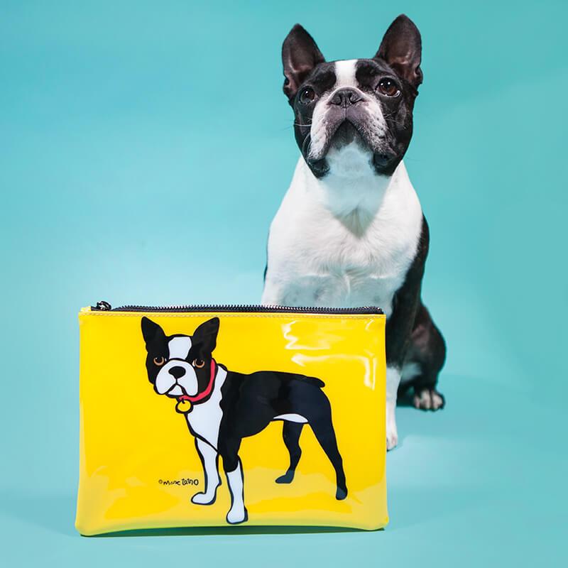 Boston Terrier Pouch