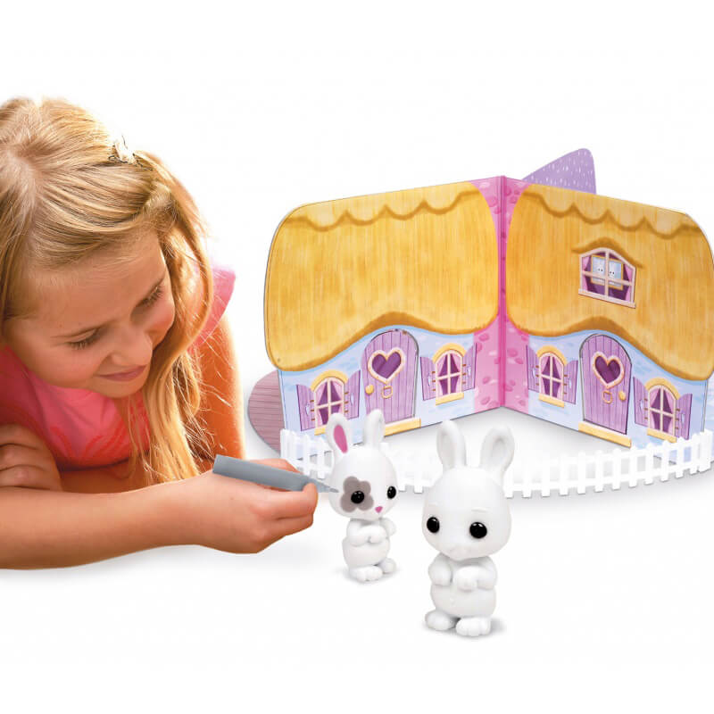 Fuzzikins Craft Cottontail Cottage