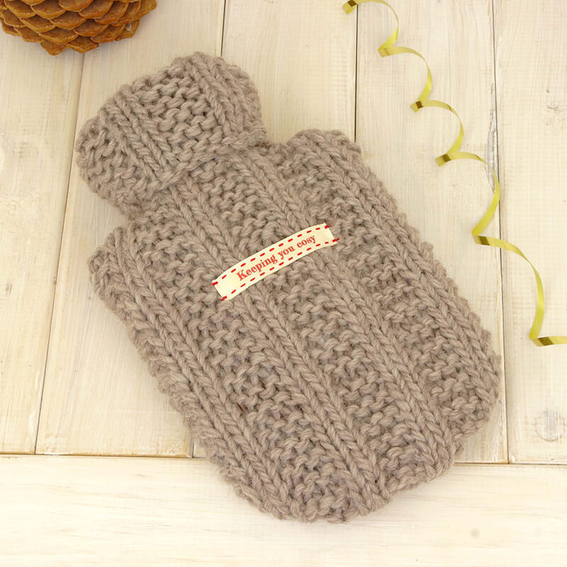 Personalised Hot Water Bottle & Cover