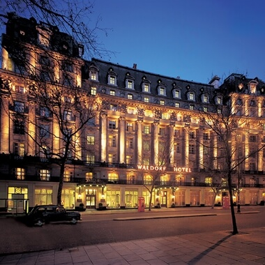 Afternoon Tea for Two at the Luxurious Waldorf Hilton