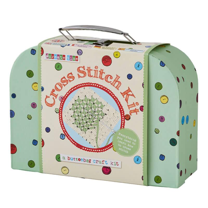 Learn to Cross Stitch Kit