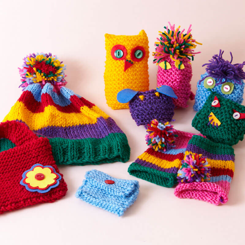 Learn to Knit Knitting Kit