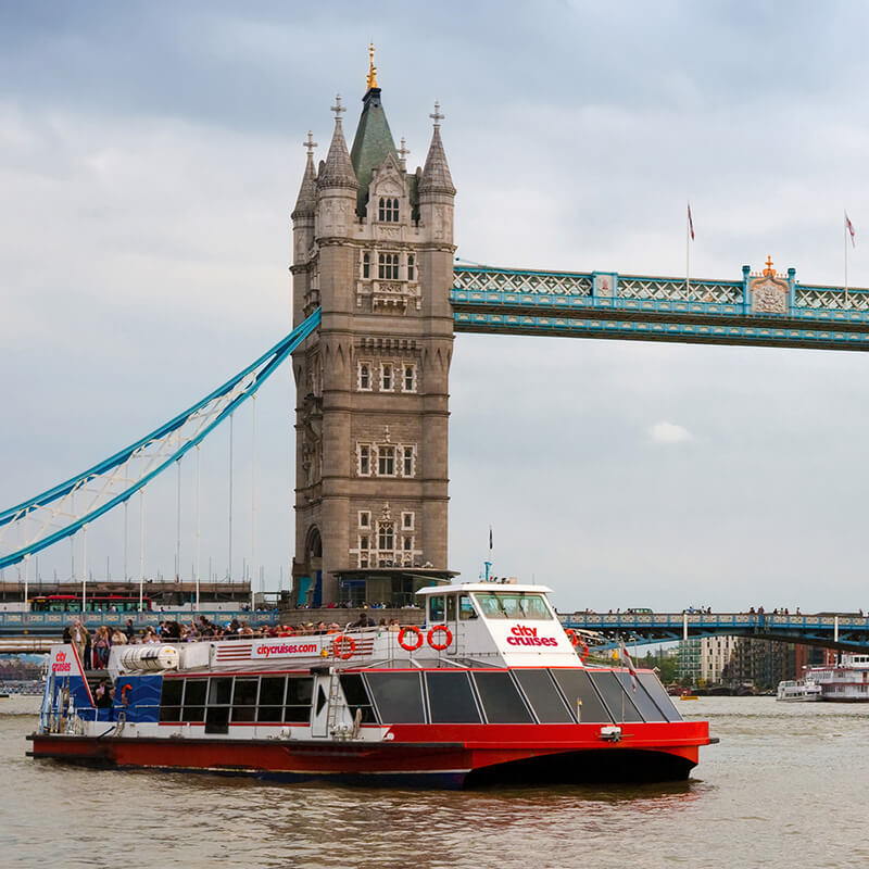 Lunch Cruise on the Thames for Two Special Offer