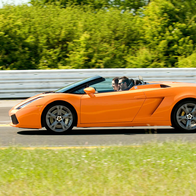 Triple Supercar Thrill with High Speed Passenger Ride - Special Offer