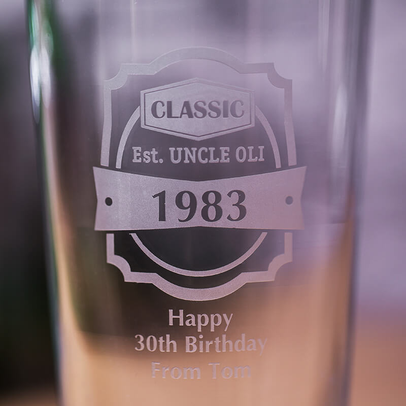 Personalised Classic Pint Glass