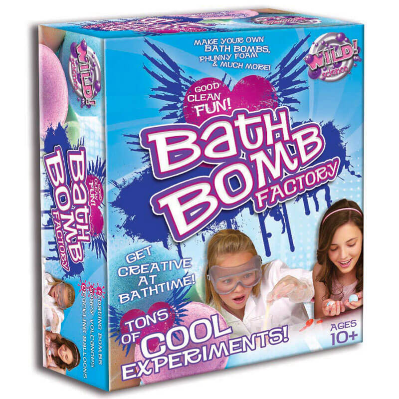 Bath Bomb Factory - Children's Birthday Your Kids Bday - 10th Birthday