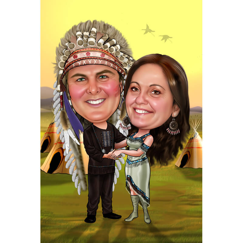 Couples Caricatures