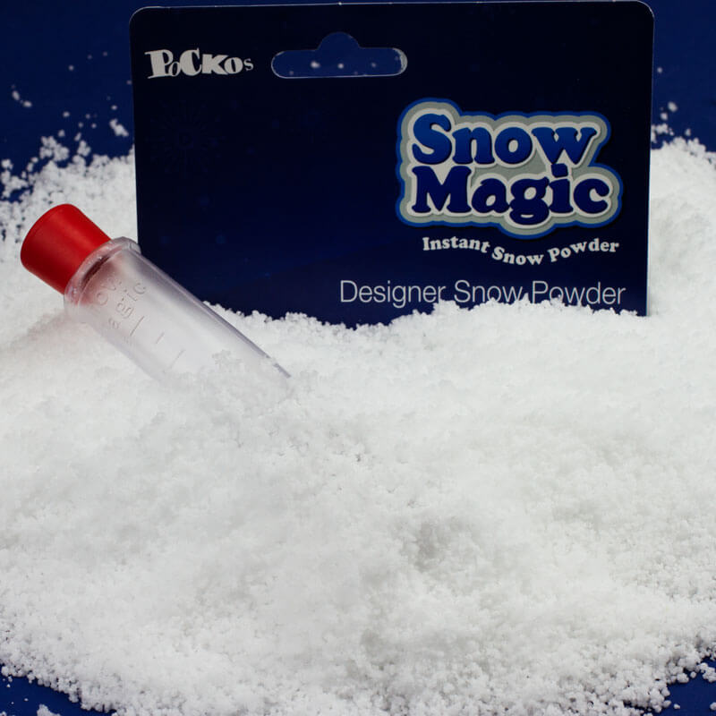 Snow Magic - The Snowman Instant Snow with Glitter - Christmas  Birthday Your Christmas Gifts - Other Products