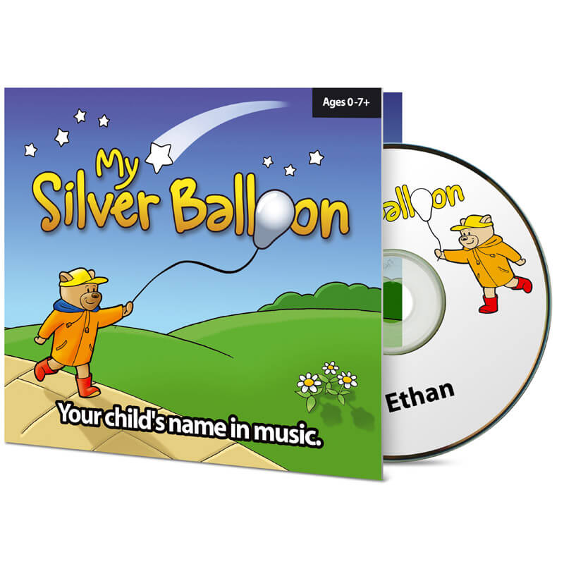 Children's (Their Name) Personalised Music CD